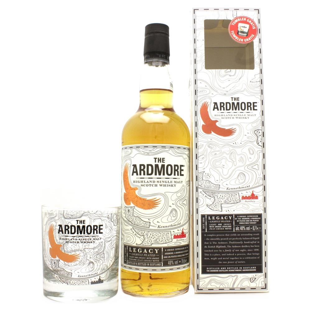 whisky ecosse coffret the ardmore legacy avec 1 verre. Black Bedroom Furniture Sets. Home Design Ideas